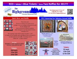 Quilt Show and Raffle / Veterans Annual Raffle
