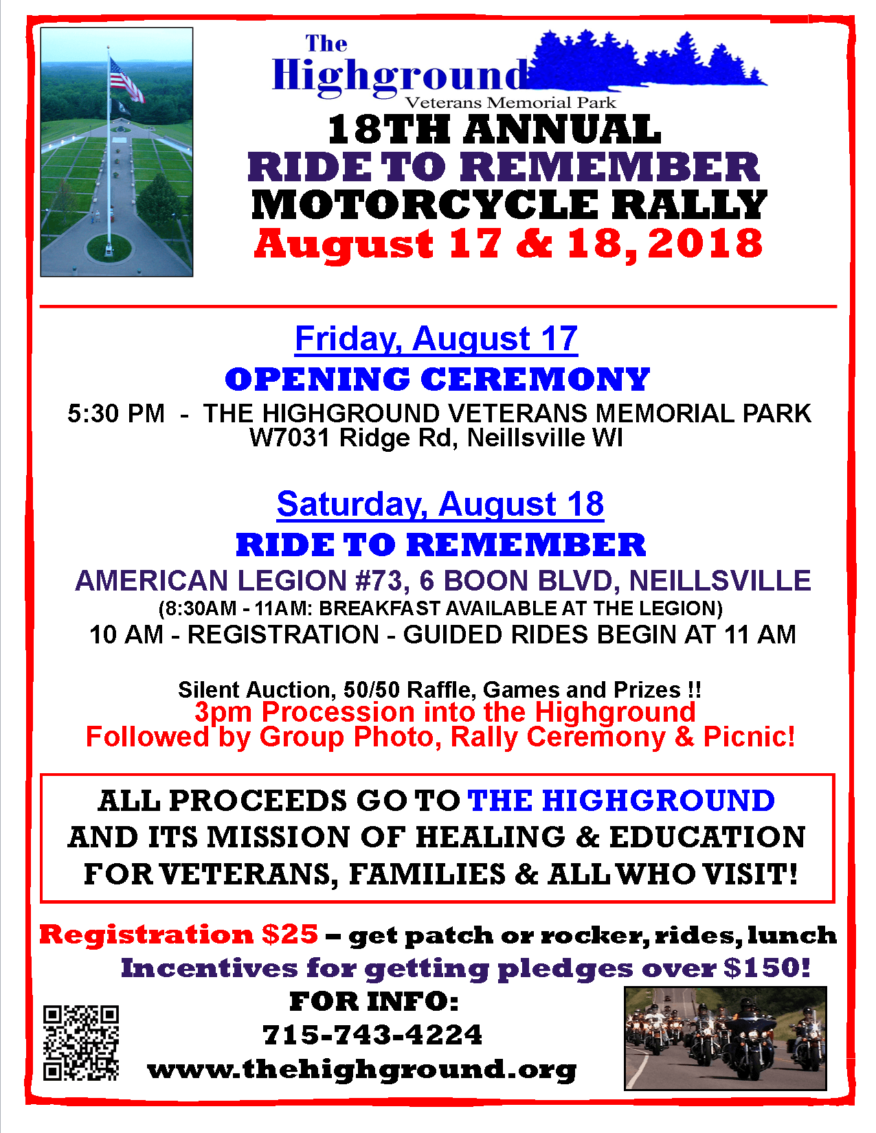 - RIDE TO REMEMBERPOSTER2018 draft poster - Events