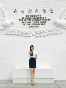 Hannah Kim of Korean War Veterans Memorial Foundation to Visit The Highground