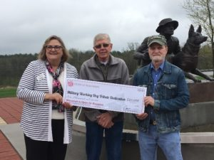 Military Working Dogs Honored at Tribute Event with Tourism Grant