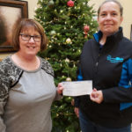 The Highground Receives Donation From Citizens State Bank Of Loyal