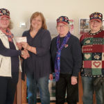 VFW Post #8478 Contributes Grant Funds to The Highground