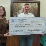 The Highground Receives COVID-19 Relief Grant from Citizens State Bank of Loyal
