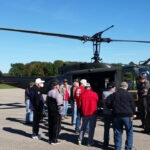 Rides in a Huey Helicopter Highlighted The Highground Male Veterans Weekend Retreat