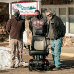 The Highground Receives Power Wheelchair From Minnesota-based Veterans Advocates