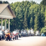 The 21st Annual Ride to Remember was Ushered in by Clear Skies